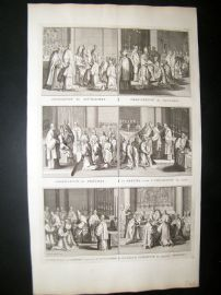 Picart C1730 Folio Antique Print. Religious Catholic 53